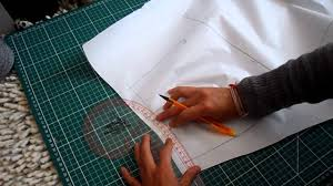 Draped Skirt Tutorial Pattern Cutting Tutorial How To Transfer Draped Skirt Pattern