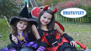halloween trick or treating with bratayley wk 200 3 youtube