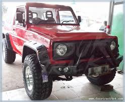 daihatsu jeep daihatsu feroza taft rocky hiline bumper depan custom 080515