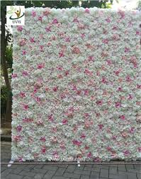quilt wedding backdrop uvg chr1136 diy backdrop wedding in pink artificial flower