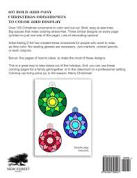 105 bold and easy ornaments to color and display a