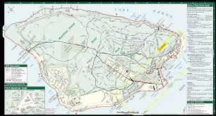 Upper Michigan Map by Map Of Mackinac Island Michigan Michigan Map