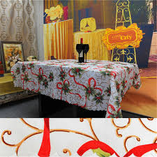 christmas tablecloth 150 180cm christmas decorations table cloth for home new year