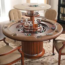 Game Tables Furniture Unique Hidden Bar Game Table High Rise Poker Table Poker