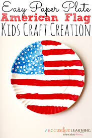 Pan American Flag Paper Plate American Flag Craft Educational Crafts Flags And Craft