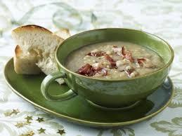 cuisine parme soupe de poireaux et chips de jambon de parme recette de cuisine