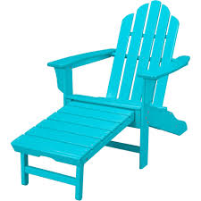 Resin Wood Outdoor Furniture by Hanover Outdoor Furniture All Weather Contoured Adirondack Chair