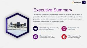 Sample Executive Summary Resume by Executive Summary Powerpoint Template Executive Summary Powerpoint
