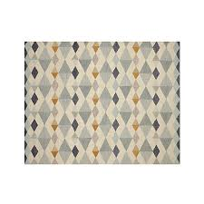 orson diamond rug 8 u0027x10 u0027 crate and barrel