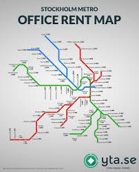 Stockholm Metro Map by Yta Se Linkedin