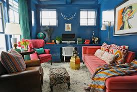eclectic home designs eclectic home office alison colorful home office decor ideas to