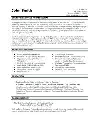 resume for customer service representative in bank resumes for customer service representative