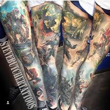 the 25 best marvel tattoo sleeve ideas on pinterest marvel