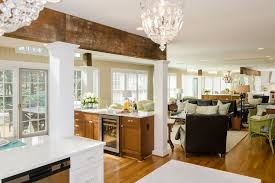 Kitchen Family Room by Custom Kitchen Remodeling Richmond Virginia