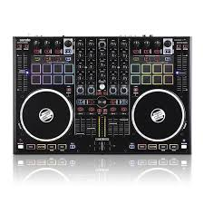 amazon com reloop terminal mix 8 4 deck serato dj performance pad