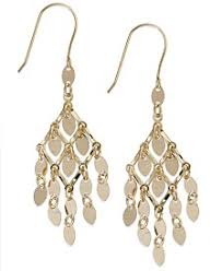 chandelier earings chandelier earrings macy s