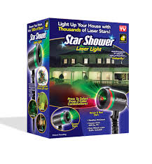 Christmas Outdoor Light Projector by As Seen On Tv Star Shower Laser Light