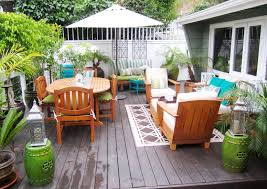 Patio Furniture For Small Spaces by Patio Best Simple And Cozy Deck Decorating Ideas Small Deck