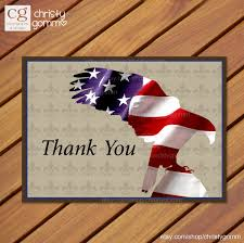 5x7 thank you card eagle scout court of honor