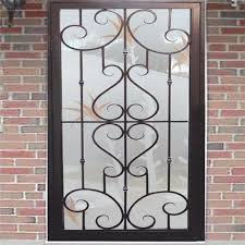 Beautiful Window Grill Designs For Homes Dwg s Interior