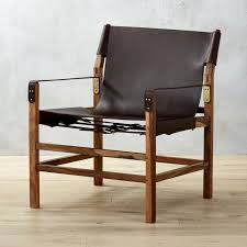 Leather Lounge Chair Modern Leather Lounge Chairs Cb2