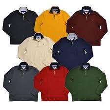 hilfiger sweater mens hilfiger sweater mens half zip fit mock neck