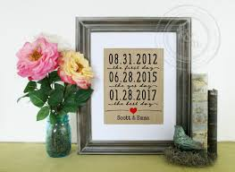 paper anniversary gifts for husband the day wedding gift print engagement gift for husband