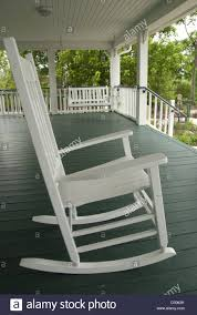 Wooden Rocking Chairs by Wooden Rocking Chairs On Porch Stock Photos U0026 Wooden Rocking