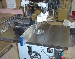 table saw power feeder more power feeder shaper mounting help please