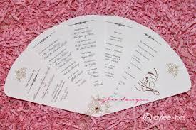 diy wedding program fans template wedding program fan by ayleebits invitaciones