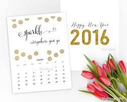 printable calendar 2016 etsy 2016 calendars for a joyous stylish new year