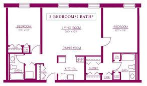two bedroom two bath floor plans simple 2 bedroom house plans webbkyrkan webbkyrkan