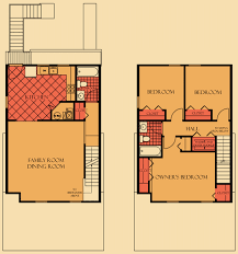Two Level Floor Plans Level Owner U0027s Townhouse Floor Plan