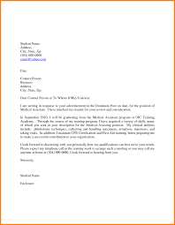 cover letter cover letter for medical job cover letter for