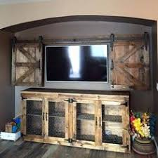 barn door tv wall cabinet rolling cabinet media solution pottery barn for the home