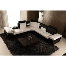 canapé d angle en cuir design canape d angle semi cuir maison design wiblia com