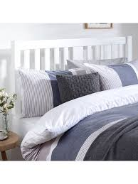 John Lewis  Partners Cole Wooden Headboard King Size White at