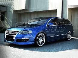 volkswagen passat r line blue vw passat b6 3c variant r look body kit