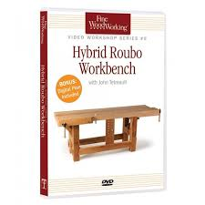 Build A Woodworking Bench Build A Hybrid Roubo Workbench Dvd Rockler Woodworking And Hardware
