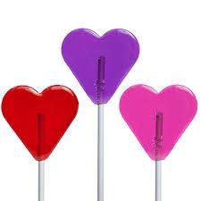 heart lollipop mini heart lollipops by melville candy