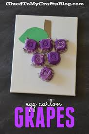 grapes craft for kids part 28 3d grape crafts with egg cartons