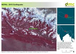 Nepal On Map Nepal A Year After The 7 8 Magnitude Earthquake Struck Dmcii