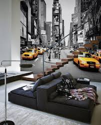 Wall Mural Mystical Pathway Peel Times Square Cabs Colorsplash Wall Mural Wallpaper Photowall