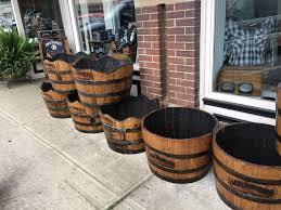 jack daniels half barrel planters u2013 true colours products