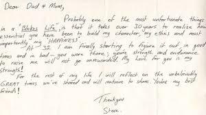 steve irwin letter reveals gratitude to parents world the