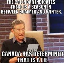 Funny Weather Memes - weather in canada