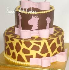 giraffe baby shower cakes chattanooga cleveland dayton wedding birthday cakes