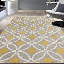 Wayfair Area Rugs by Kitchen Elegant World Rug Gallery Newport Gray Yellow Area Reviews