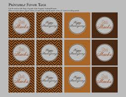 thanksgiving placemat table tents and favor tags free printables
