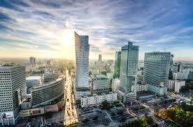 free stock photo of city high rises poland